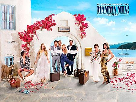 Mamma Mia. Grekland.